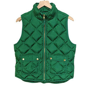 J. Crew Excursion Quilted Down Puffer Vest PL